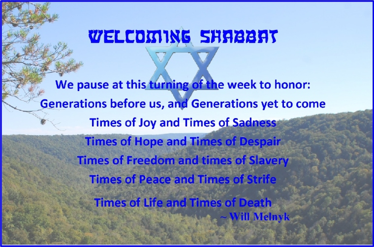 Shabbat Welcome